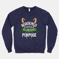 Burdened with Glorious Purpose | HUMAN | T-Shirts, Tanks, Sweatshirts and Hoodies