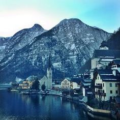Cozy up to the storybook town of Hallstatt, #Austria. Photo courtesy of sabzwong on Instagram.