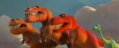 First Look At The Good Dinosaurs T-Rexes  D23 Expo