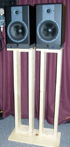 1000+ images about Studio monitor stand on Pinterest | Monitor stand