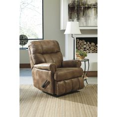 Almond Rocker Recliner | Brian's Furniture