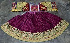 AFGHAN NOMAD KUCHI ETHNIC BELLYDANCING BOHO BANJARA HIPPIE TRIBAL VINTAGE DRESS #Handmade #Formal