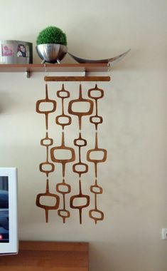 Room Divider Wall Hanging Decor Wood Installation 17 x 37 Ready to Hang Mid century wall decor Mid century room devider Room Divider Wall Hanging Decor Wood Installation 17 x 37 Ready to Hang Mid century wall decor Mid century room devider nbsp hellip
