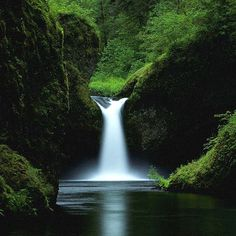 Punchbowl Falls @ Oregon