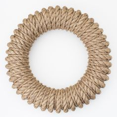 the hampton wreath. a year-round wreath made of marine-grade rope. Available at Sage Market + DesignHampton Wreath Using a combination of burlap and over 70 feet of Manila roping,The Festive Wreath Accessories Collection - The Festive HomeLocally mad Rope Crafts, Wreath Crafts, Diy Wreath, Mesh Wreaths, Burlap Wreath, Plymouth, Nautical Wreath, Year Round Wreath, Wreath Tutorial