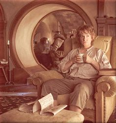Bilbo! He has to be at my tea party. Except, he might not like all the...unexpected company.