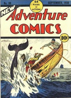 Cover for New Adventure Comics (DC, 1937 series) #30