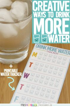 Creative Ways To Drink More Water copy
