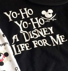 Tees only. Listing for one shirt only with saying Yo-Ho Yo-Ho a Disney Life For…