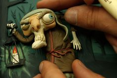 Gianluca Maruotti is a freelance illustrator, puppet maker and stop motion animator/director based in Rome, Italy. Toy Art, Animation Image Par Image, Animation Stop Motion, Marionette, Creepy Pictures, Polymer Clay Dolls, Sculpture Clay, Oeuvre D'art, Puppets