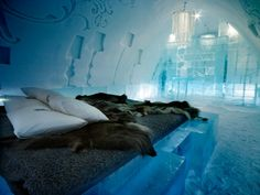 Ice Hotel in Lappland