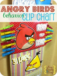 Angry Birds clipchart! Everyone knows Ms. Banks loves Angry Birds! Who doesn't?!