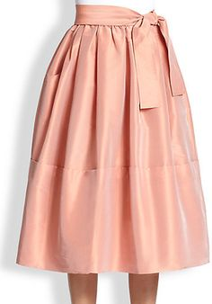 Tome Taffeta Dirndl Skirt