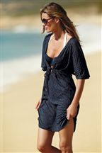 Floral Kaftan. Great for over a swimsuit.