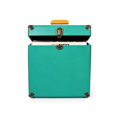 Crosley | Record Carrying Case - Turquoise #crosley #accessories #carryingcase #vinyl