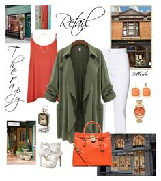 """""""Retail Therapy"""" by mduncan0417 ❤ liked on Polyvore featuring WearAll, Steilmann, GUESS, MICHAEL Michael Kors and Monet"""