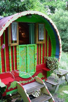 Gypsy old circus home