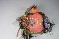 Handmade Mini Scrapbook Album Chunky Mini by BlingNThingsbyPenny, $50.00