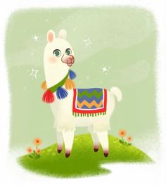Llama - Roxanne Rainville