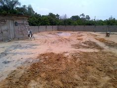 Sand filled and fenced land of 450sqms at Beechwood Estate, Lakowe, Lekki. Beechwood Estate is owned by ARM Investment Managers.  #realestate #property #land #forsale #Lekki #Lagos #Nigeria