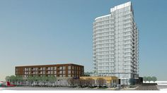 Lennar Multifamily has revealed the first images of an 18-story apartment tower it plans to develop on a key site in Northeast Minneapolis.