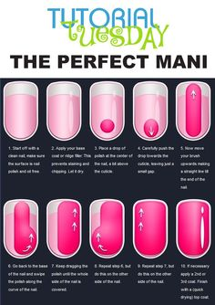 The perfect DYI mani