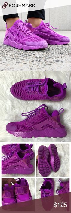 Women's Nike Air Huarache Run Ultra Breathe Brand new with the box but no lid. These are true to size Nike Shoes Athletic Shoes