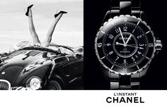 "#Chanel ""L'instant Chanel"" advertising campaign by #PatrickDemarcherlier"