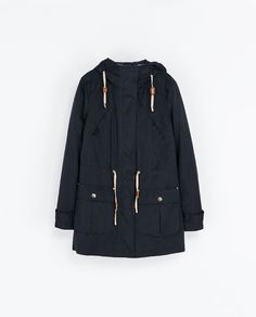 ZARA - WOMAN - QUILTED PARKA