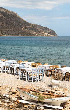 Tavern by the sea at Elounda, Crete | My Paradissi