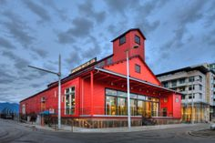 The Salt Building - required major renovation including raising the building and seismic upgrades while maintaining its 1930 heritage construction and feel. Craft Beer, Raising, Vancouver, Restoration, Restaurants, Salt, Construction, Mansions, House Styles
