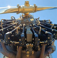 9 cylinder radial engine