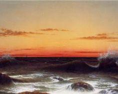 Martin Johnson Heade ~ Sunset