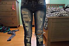 cute jeans !