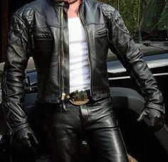 This tumblr is about bikers, bikes, leather, bondage, gay erotica and the like. So NSFW. If you're...