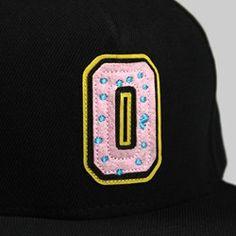 Odd Future Collegiate 2 Donut Cap Black Odd Future fcea6e441703