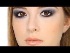 Lisa Eldridge video for creating a blue smokey eye; great for brown eyes.