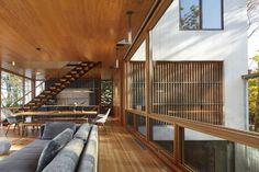 Casa no Lago Michigan (Foto: Steve Hall e Hedrich Blessing/Divulgação)