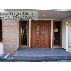 Lots of entry door ideas here. Home Door Design, Pooja Room Door Design, Main Door Design, Wooden Door Design, Front Door Design, House Design, Double Front Doors, Wood Front Doors, House Doors