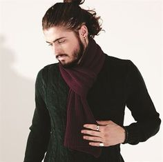 Ralawise. Metro knitted scarf BC469