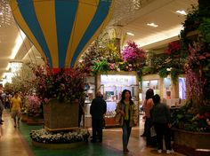 Macy's Flower Show NYC 2010 by Stephen Rees, via Flickr