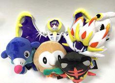 WIN A FREE Set of Generation 7 Pokemon Plush Toys