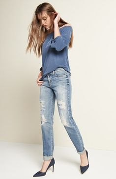 Ella Moss Top & Joe's Jeans