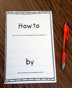 Little Priorities: How to Writing and Freebie booklet