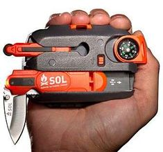 Compact Multiuse Survival Gear  Sol Survival Kit Prepares You for the Worst