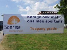 Opdrachtgever: GKV-Zwolle-West. De Fontein. Ontwerp: Watersport4all. Produkt: Custom Banner. Materiaal: Pvc. Maat: 3x1 mtr.