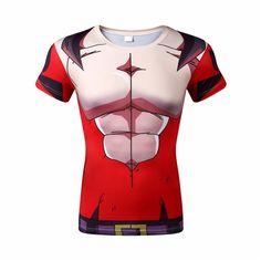 5ea0a66ec9 Dragon Ball Z 3D Short Sleeve Armor Anime T-Shirt V10. SublimadosAccesorios CamisetasPolosEstilo ...