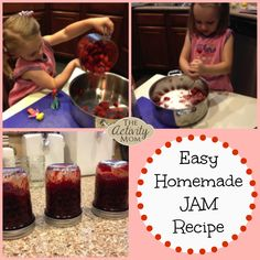 I promise this recipe really is easy!! We have made this recipe 3 summers in a row, starting when my kids were 2 and 4. Kids of all ages will love to help wi