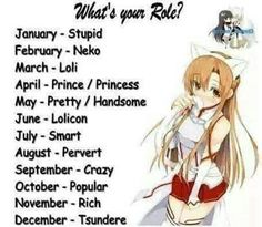 Tsundere, but I'm a Dandere Tsundere, Horoscope Animé, Horoscopes, Funny Name Generator, Birthday Scenario Game, Birthday Games, Game No Life, Anime Zodiac, Signo Libra