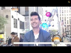 Dan Smith of Bastille, at the TODAY show